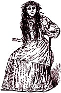 Betsy Bell, target of the infamous Bell Witch haunting