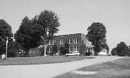 Bell School Building in Adams, Tennessee